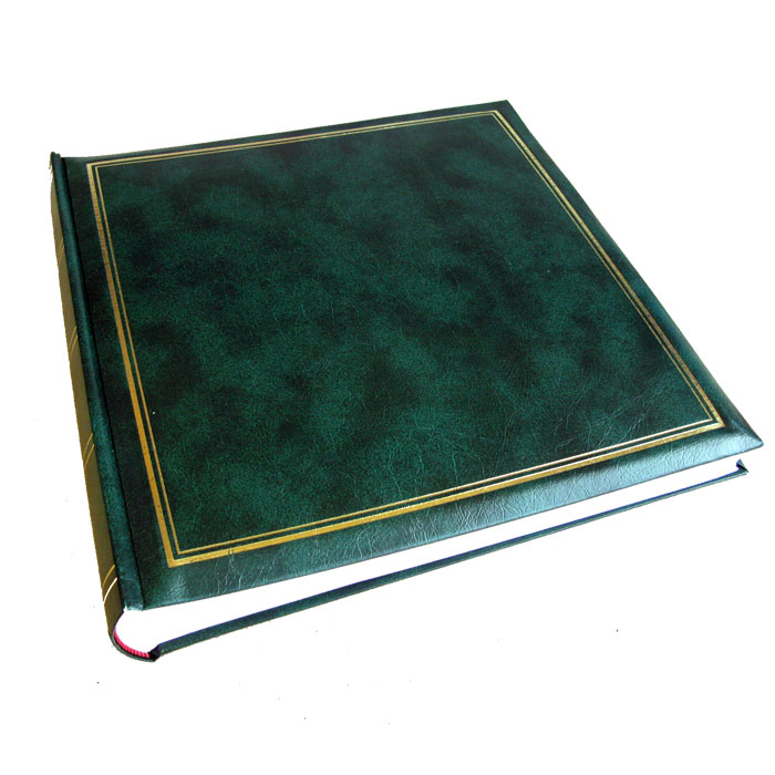 Classic green traditional photo album 100 sides for House classics album