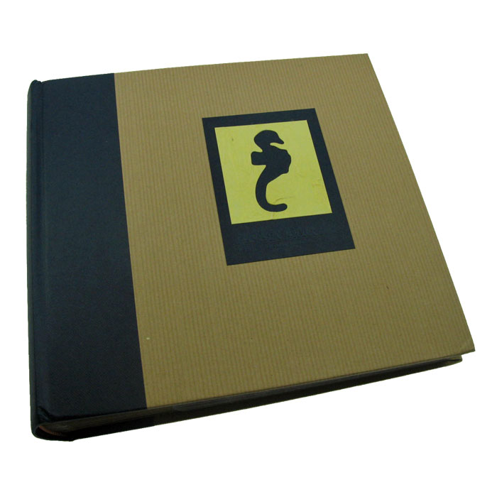 green earth blue seahorse 6x4 slip in photo album 200. Black Bedroom Furniture Sets. Home Design Ideas