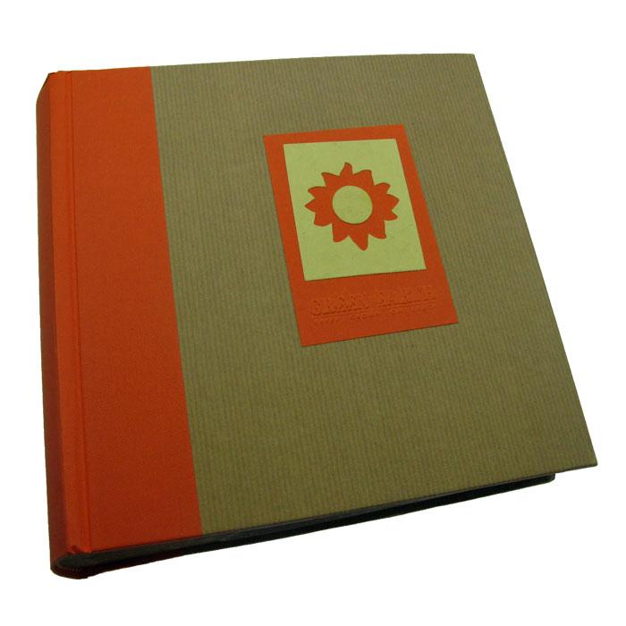 green earth orange sun 6x4 slip in photo album 200 photos holds 200 photos 6x4 slip in. Black Bedroom Furniture Sets. Home Design Ideas