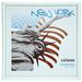New York White Photo Frame - 10x10cm